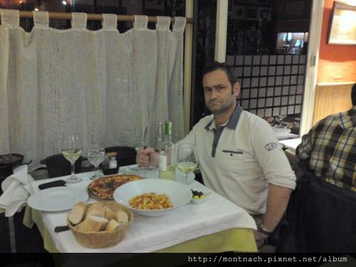在Anna e Paolo吃晚餐