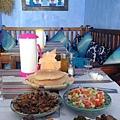 摩洛哥沙拉 茄子及小菜橄欖