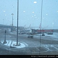 大雪導致航班大亂