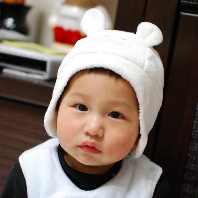戴小老鼠帽帽~又一張妹妹Look