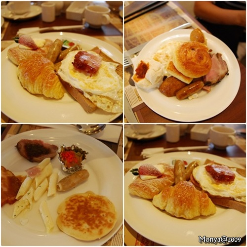 早餐也是吃把費~真是肥死我了!