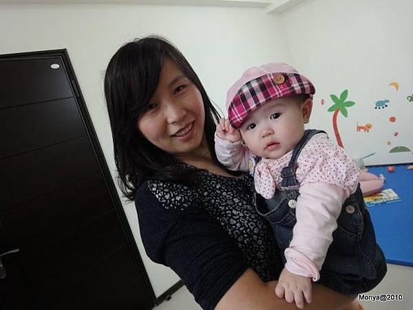 真是漂亮的一對母女啊!