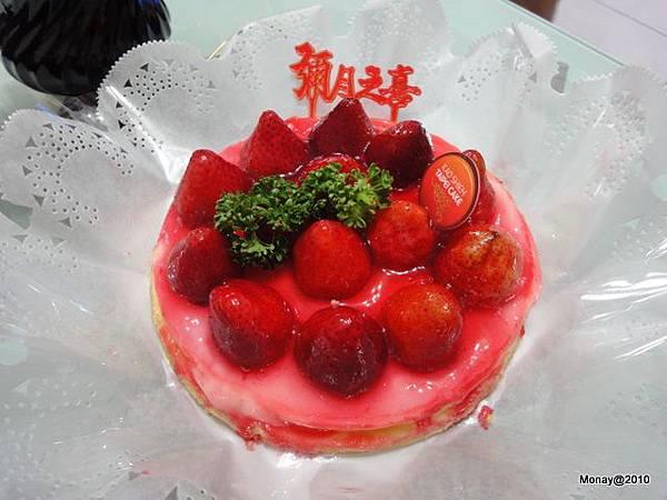 高仕的草莓乳酪蛋糕