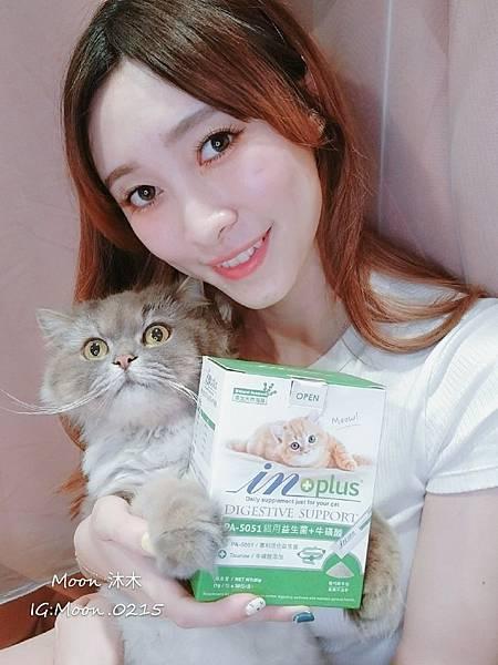 in plus 益生菌 貓評價 PA-5051 貓用益生菌+牛磺酸 海藻粉 艾斯克 寵物 食品_190501_0001.jpg