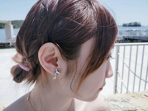 Lotin 迪世尼小美人魚 飾品 項鏈 耳環 手鍊 純銀項鏈推薦 迪世尼週邊商品 小美人魚系列商_0.jpg