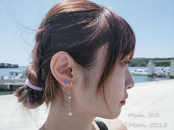 Lotin 迪世尼小美人魚 飾品 項鏈 耳環 手鍊 純銀項鏈推薦 迪世尼週邊商品 小美人魚系列商_1.jpg