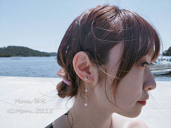 Lotin 迪世尼小美人魚 飾品 項鏈 耳環 手鍊 純銀項鏈推薦 迪世尼週邊商品 小美人魚系列商_15.jpg