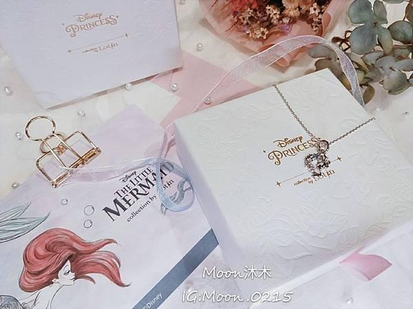 Lotin 迪世尼小美人魚 飾品 項鏈 耳環 手鍊 純銀項鏈推薦 迪世尼週邊商品 小美人魚系列商_21.jpg