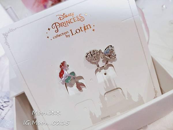 Lotin 迪世尼小美人魚 飾品 項鏈 耳環 手鍊 純銀項鏈推薦 迪世尼週邊商品 小美人魚系列商_25.jpg