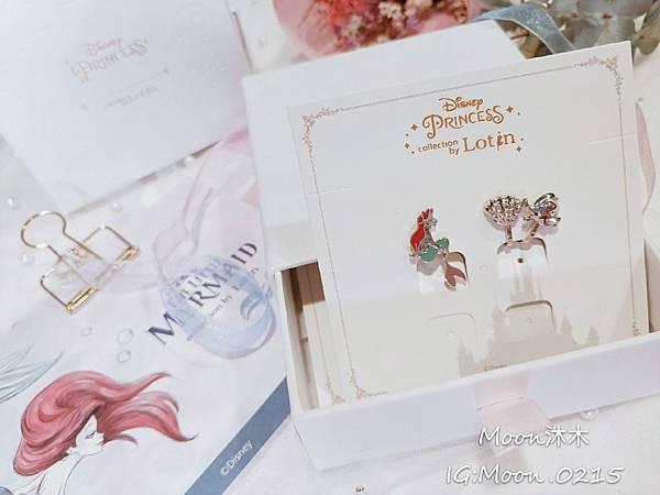 Lotin 迪世尼小美人魚 飾品 項鏈 耳環 手鍊 純銀項鏈推薦 迪世尼週邊商品 小美人魚系列商_26.jpg