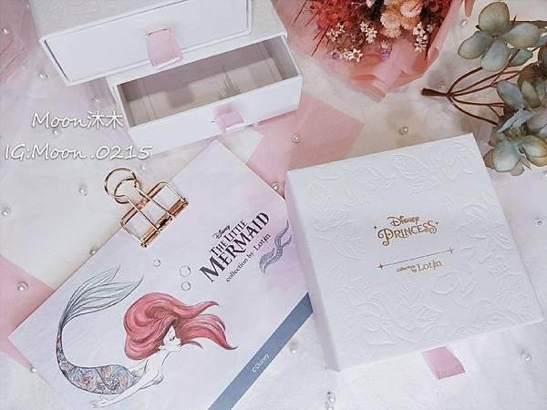 Lotin 迪世尼小美人魚 飾品 項鏈 耳環 手鍊 純銀項鏈推薦 迪世尼週邊商品 小美人魚系列商_33.jpg