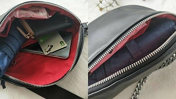 APPLIE 包包評價 推薦款式  Bobby 鎖鏈斜背腰包 浪跡天涯旅行袋 放置行李箱上 防水包包_190613_4.jpg