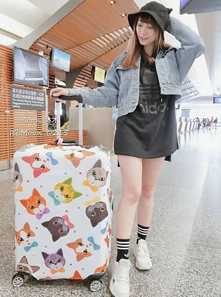 貓樂園 貓奴創意市集 貓咪週邊商品 貓咪圖案 LED鏡子 貓咪行李套 貓咪帽子 漁夫帽 貓咪包_8.jpg