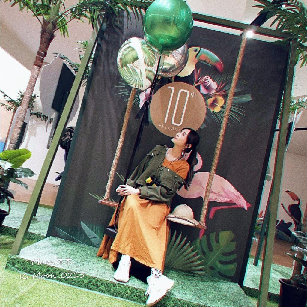 BELLAVITA 週年慶 展覽 奇幻叢林 熱帶叢林 小市集 拍照經典 Ig打卡 台北景點_190910_0041.jpg