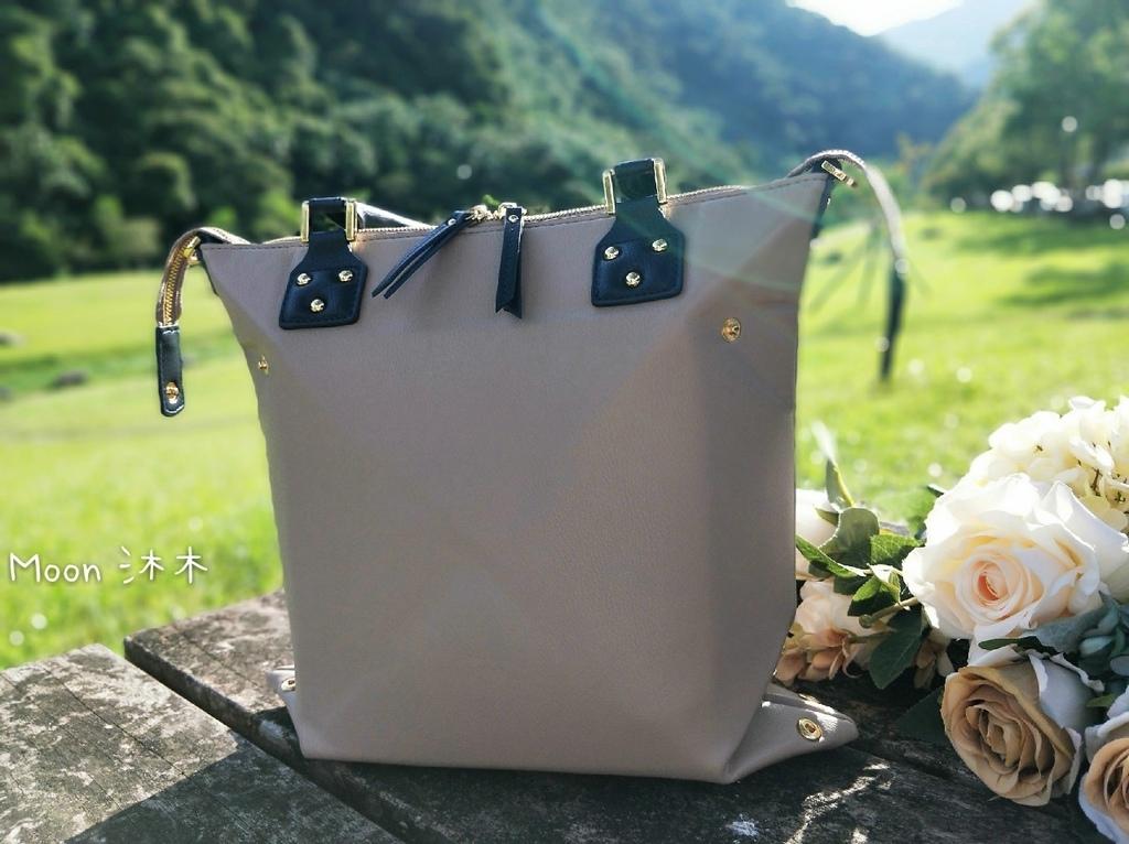 hanaa-fu 台灣 哪買 評價 百變摺疊造型 2021包包推薦 2020 奶茶色包包 百搭包包_200804_12.jpg
