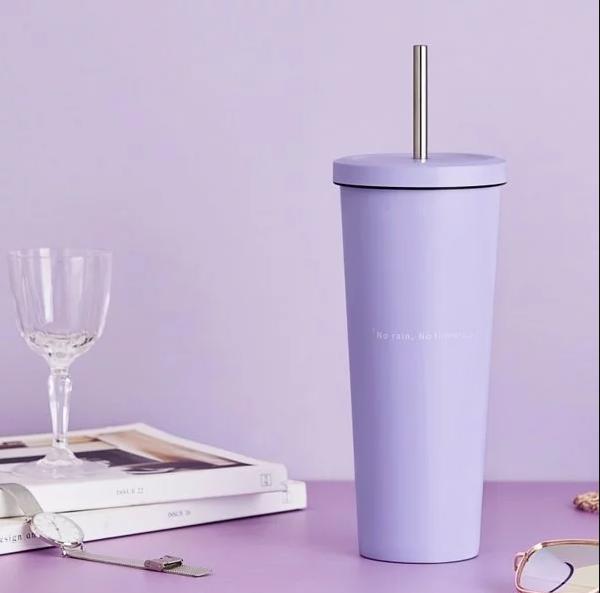 莫蘭迪系列不鏽鋼吸管杯850ml-浪漫香芋.PNG