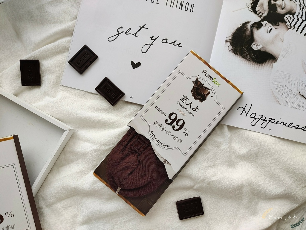巧克力戀人襪子 PureSox 恋人よ巧克力 巧克力襪 襪子 船型襪 中筒襪 情人節禮物2021_210323_5.jpg