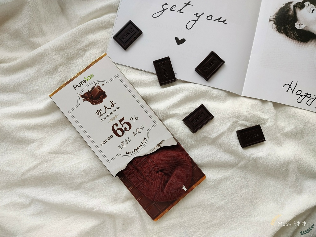 巧克力戀人襪子 PureSox 恋人よ巧克力 巧克力襪 襪子 船型襪 中筒襪 情人節禮物2021_210323_6.jpg
