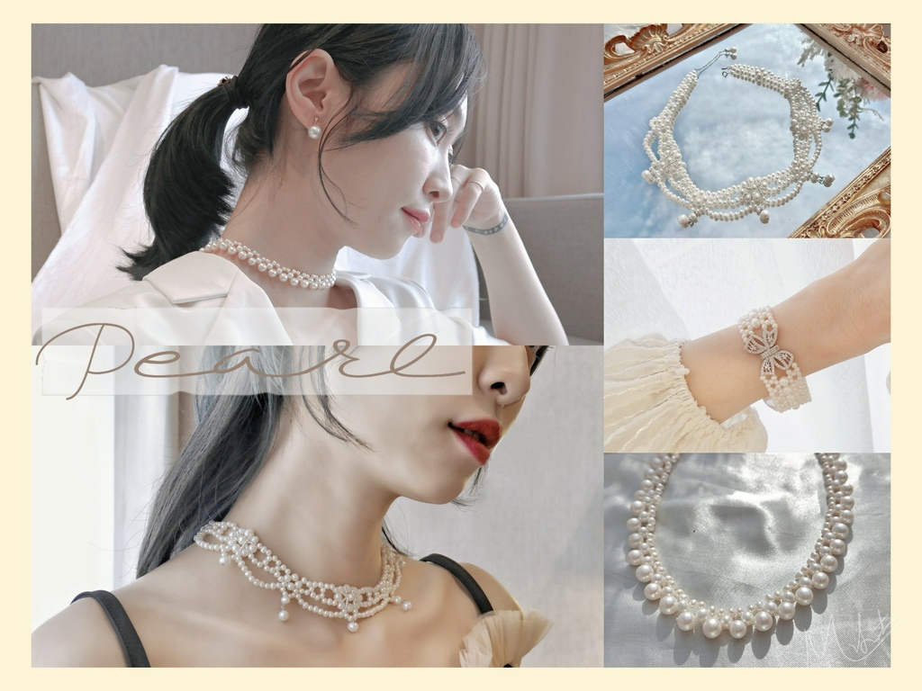 珍珠飾品 珍珠真假分辨 書品珍珠評價 新娘飾品 華麗飾品 宮廷風華麗飾品 頸鍊設計 飾品_11.jpg
