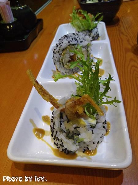 義郎銘壽司-軟殼蟹壽司120元