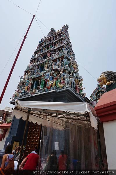 牛車水的印度廟