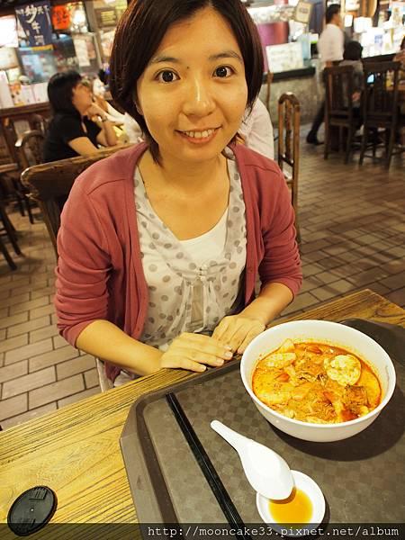 Vivo美食街吃叻沙(LAKSA)