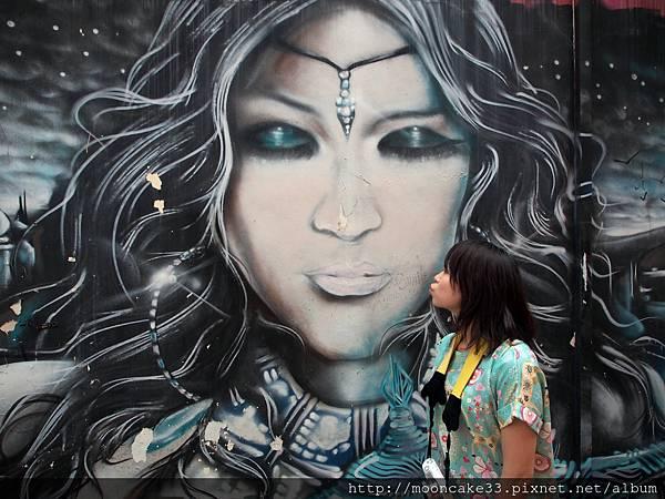 哈芝巷的美麗彩繪