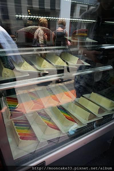 超有名彩虹蛋糕 沒吃