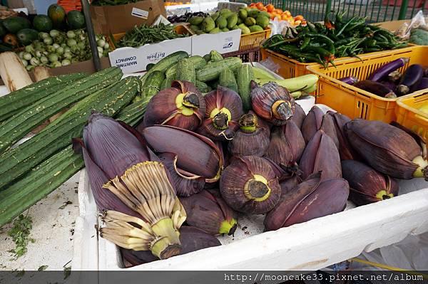 印度市場不知名蔬果