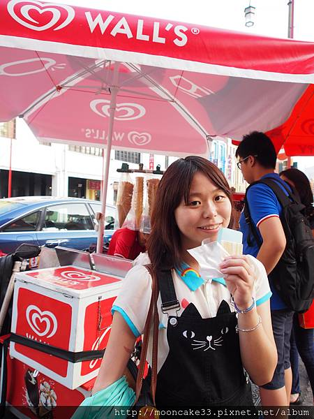我只吃了一小口的街頭冰淇淋