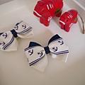 (售完)1、皇家海軍蝴蝶結(藍)