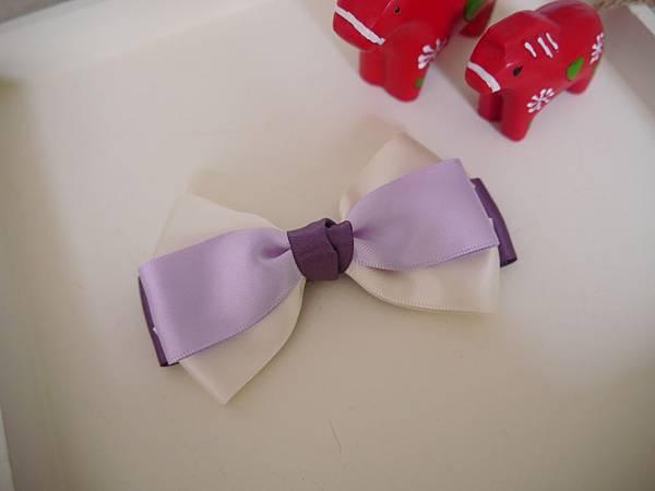 13、紫色漸層多層蝴蝶結