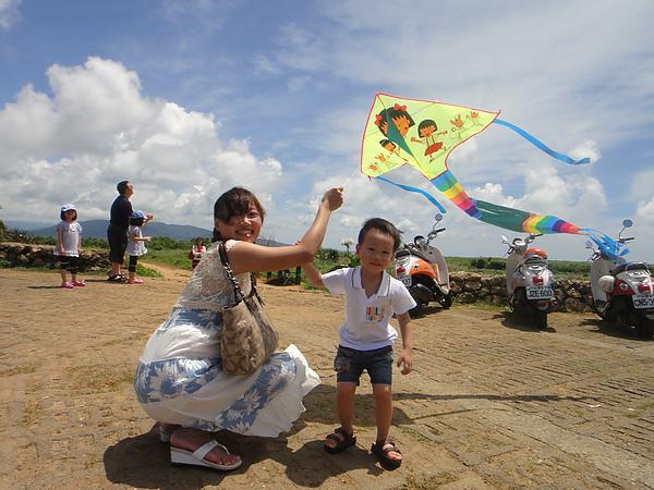 第一次放風箏