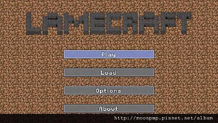 PSP 當個創世神(Minecraft)0.8V-3
