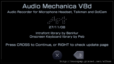 PSP錄音程式!Audio Mechanica V8d-2