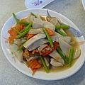 杏鮑菇炒蘆筍