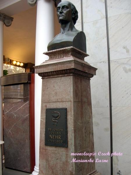 瑪麗安斯凱最早溫泉的發現者─涅和醫生(DR. Nehr)