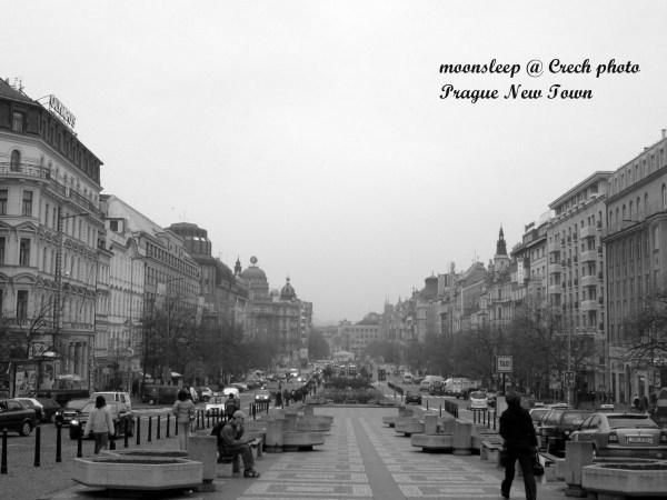新城區瓦茨拉夫廣場Vaclavske square