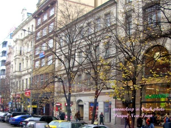 繁華的布拉格新城區,許多五星級旅館齊聚在此