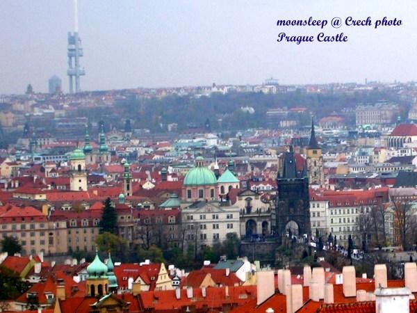 捷克布拉格,有百塔之城美名