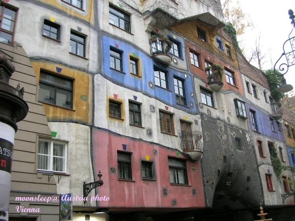 側看充滿驚奇的百水公寓