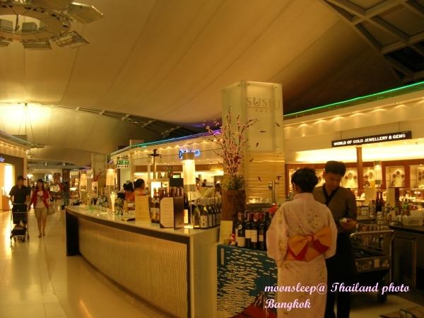 機場免稅商店一隅,日式[餐廳