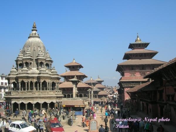 尼泊爾最古老城市─帕坦Patan入口