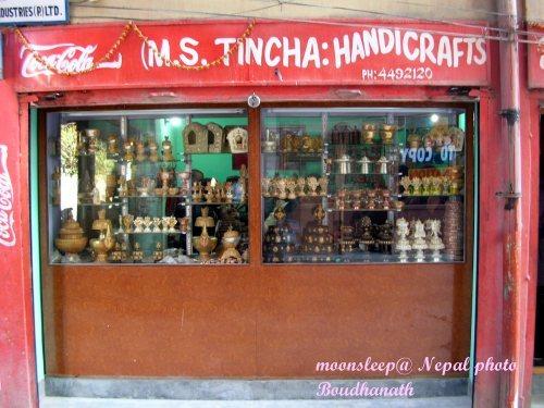 手工製作的藏式佛教文物店
