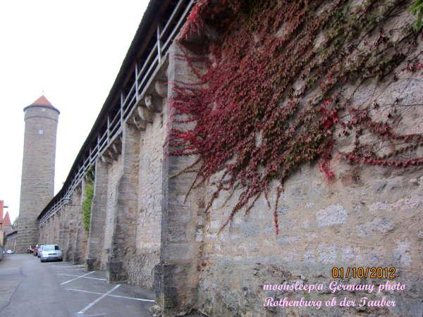 靜謐的城牆