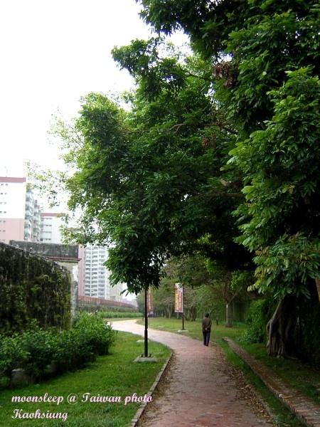 左營舊城紅磚小路
