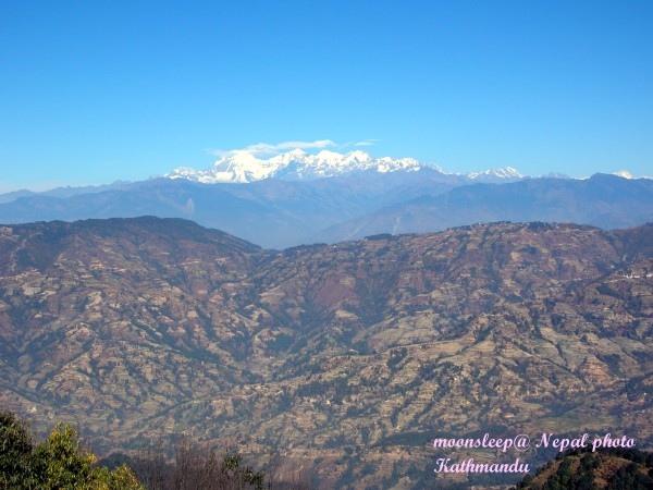 美麗的喜馬拉雅山近在眼前