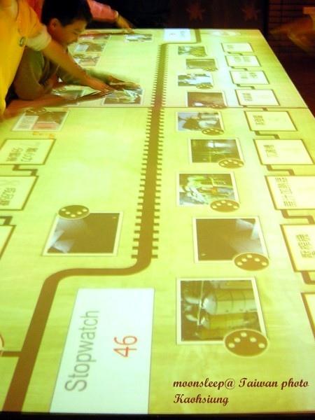 製糖過程互動觸控面板