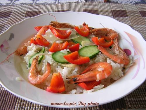 羅勒海鮮蒸飯