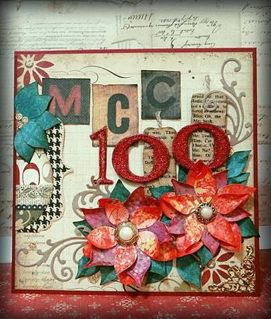 儒媽 MCC#100示範作品
